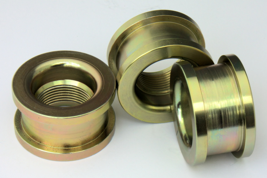Emjay Engineering Sample 11 | Manually Turned, Zinc-plated, Mild Steel Components
